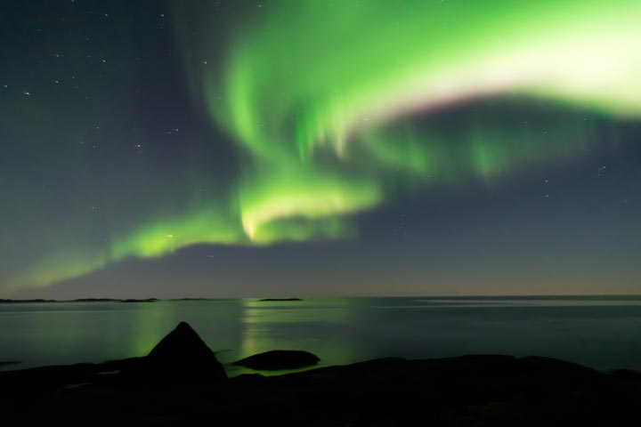 See the northern lights come alive